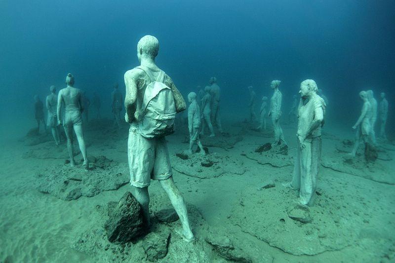 Primeiro museu de escultura subaquática da Europa 10