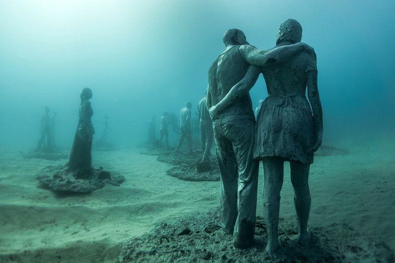 Primeiro museu de escultura subaquática da Europa 11