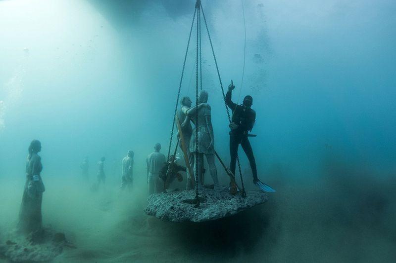 Primeiro museu de escultura subaquática da Europa 12