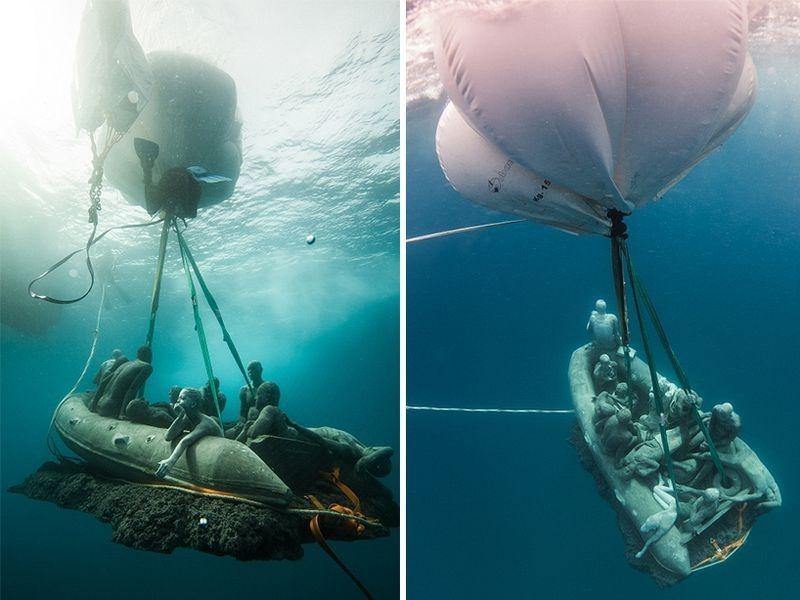 Primeiro museu de escultura subaquática da Europa 13