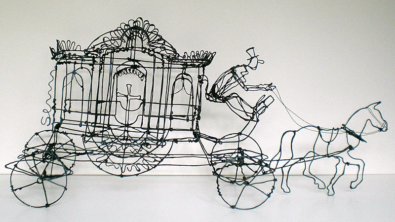 Incr�veis esculturas tridimensionais de arame 04