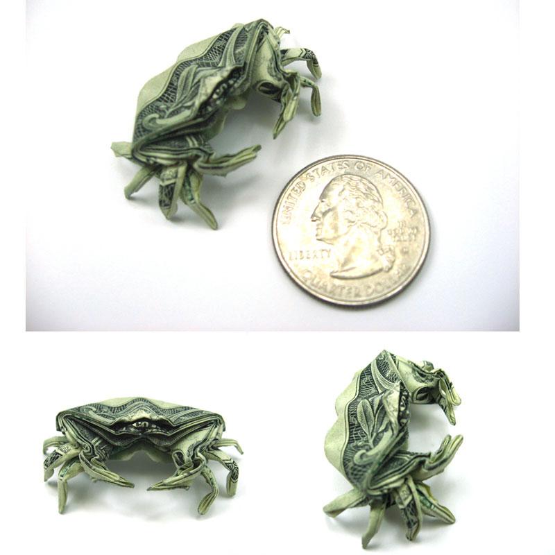 Incrível origami feito com cédulas 03