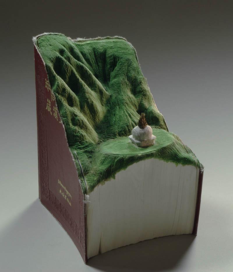 Paisagens incr�veis esculpidas em livros - Parte 2 05