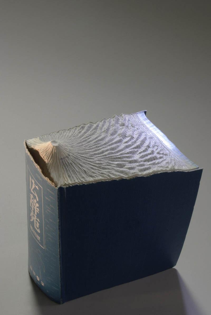 Paisagens incr�veis esculpidas em livros - Parte 2 15