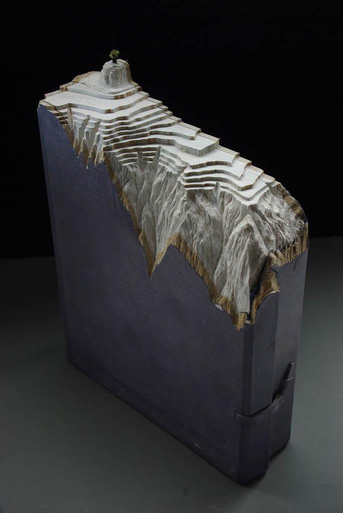 Paisagens incríveis esculpidas em livros 06