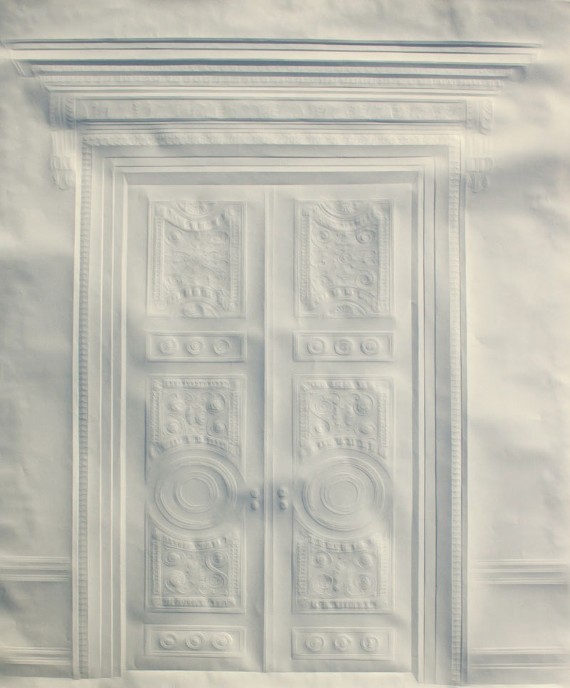 Obras de arte feitas com folha de papel vincado 10