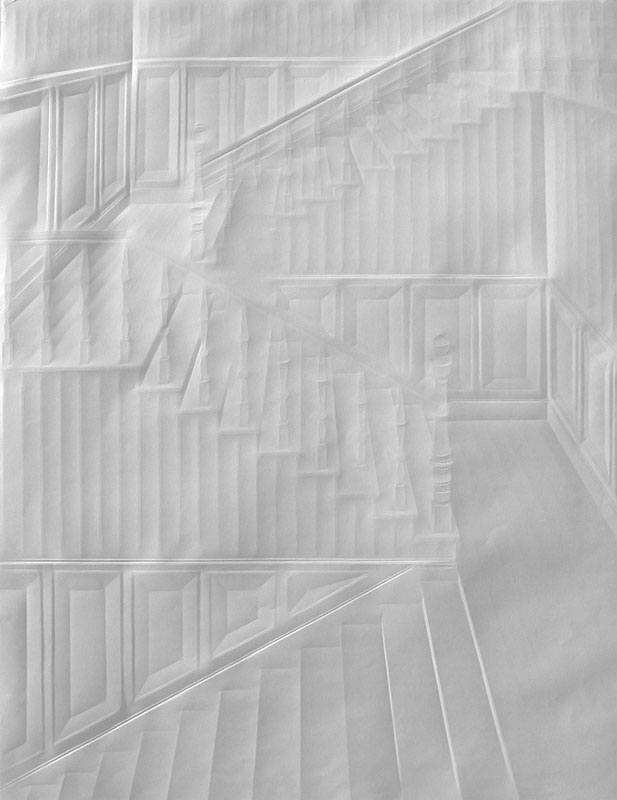 Obras de arte feitas com folha de papel vincado 20