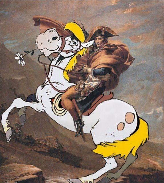 Quando os personagens dos quadrinhos tomaram de assalto as obras de arte 15