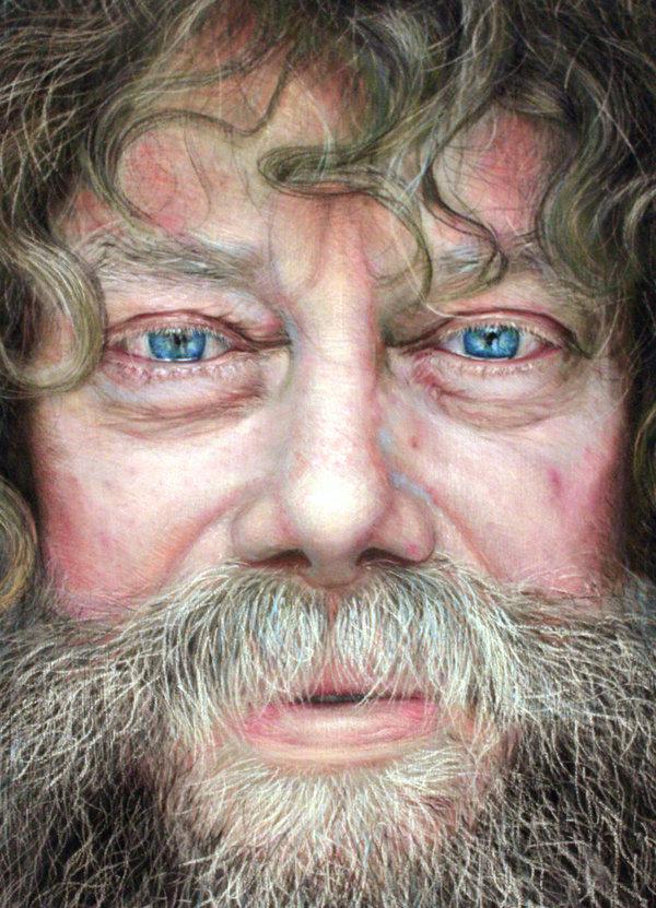 Os inacreditáveis desenhos foto-realistas a pastel de Ruben Belloso Adorna 11