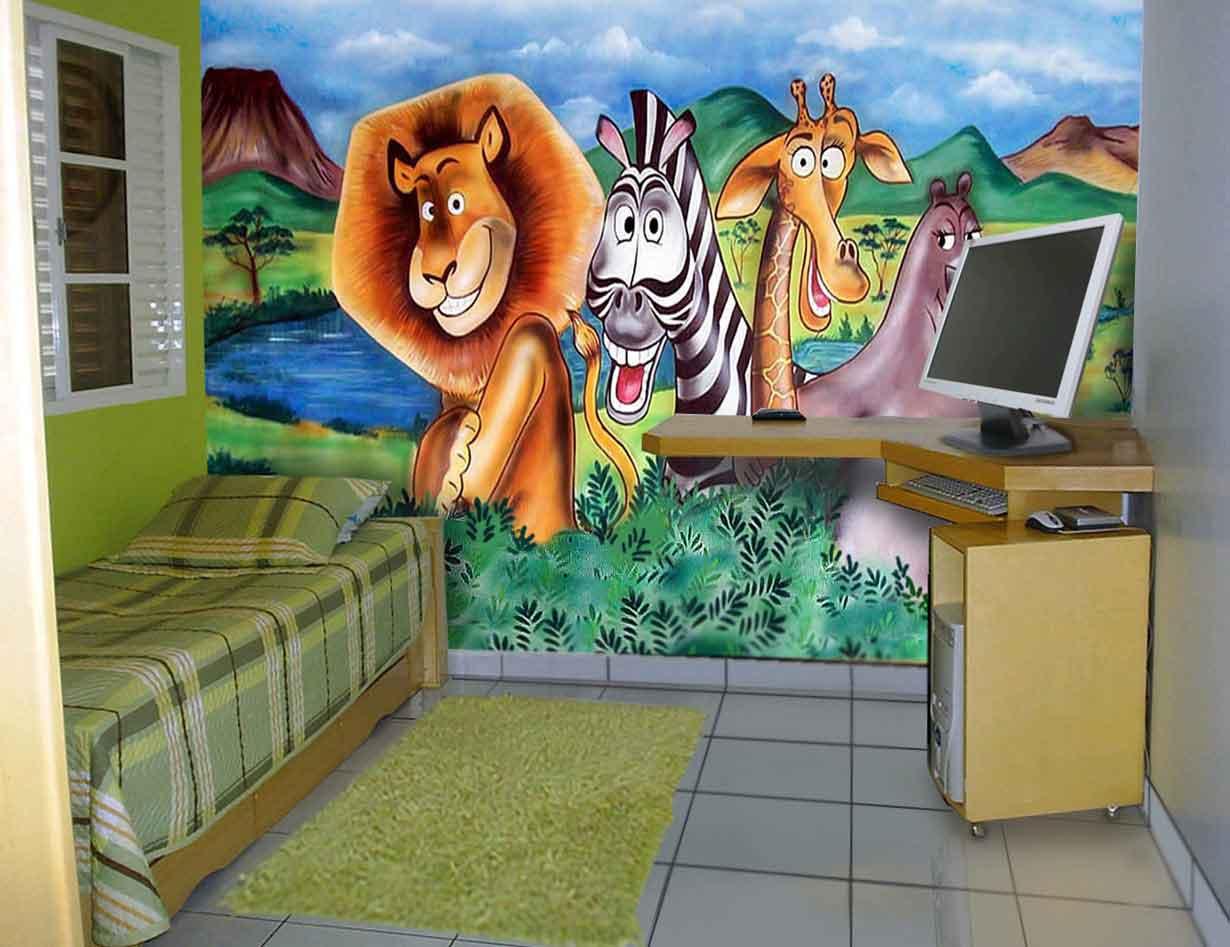As pinturas infantis de um amigo do MDig 06