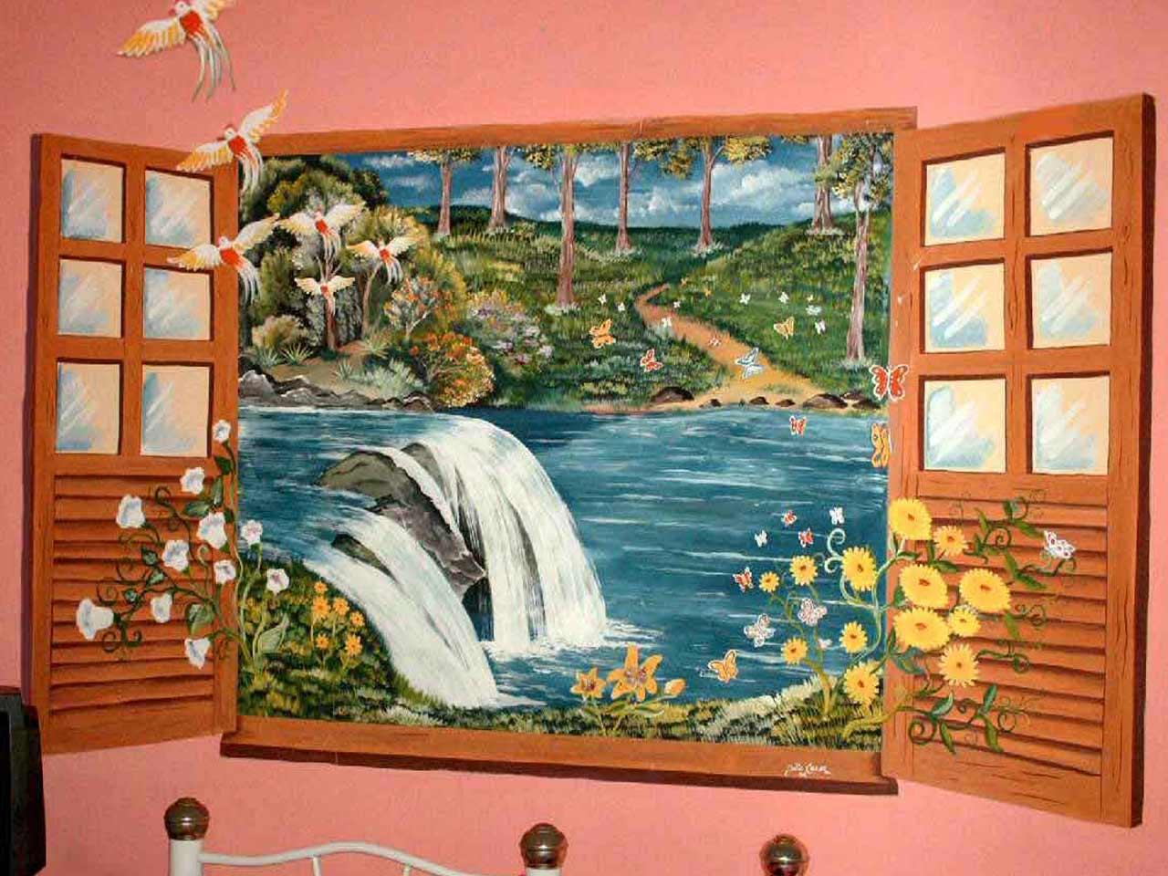 As pinturas infantis de um amigo do MDig 09