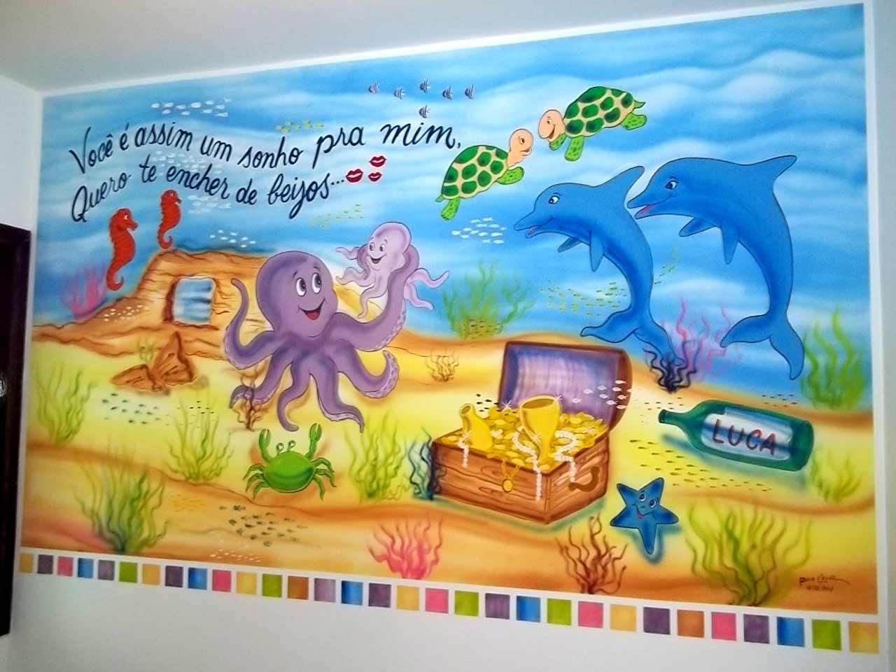 As pinturas infantis de um amigo do MDig 11