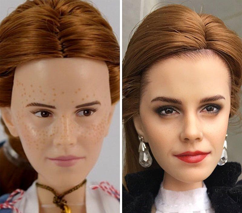 Os «remakes» espantosamente realistas de bonecas de uma artista ucraniana 15