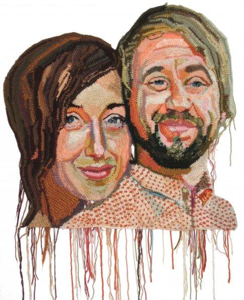 Os retratos feitos com crochê de Jô Hamilton  05