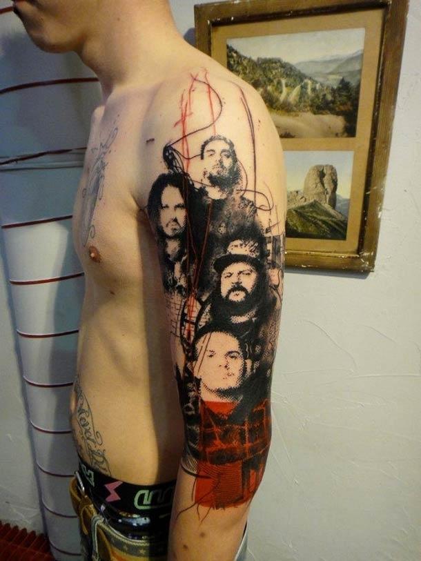 Obras-primas de um mestre francês da tatuagem 14