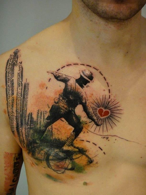 Obras-primas de um mestre francês da tatuagem 16