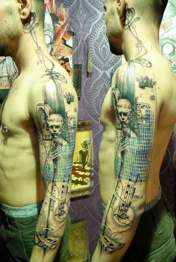 Obras-primas de um mestre francês da tatuagem 17