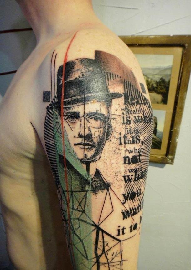 Obras-primas de um mestre francês da tatuagem 19