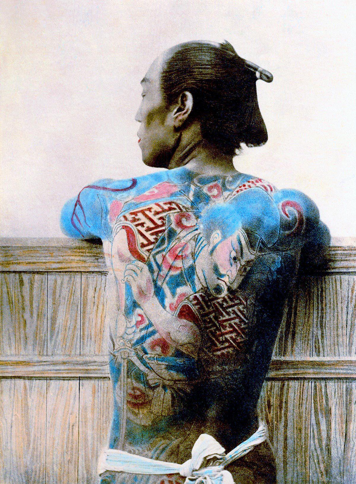 A linda e complicada história das tatuagens japonesas 01