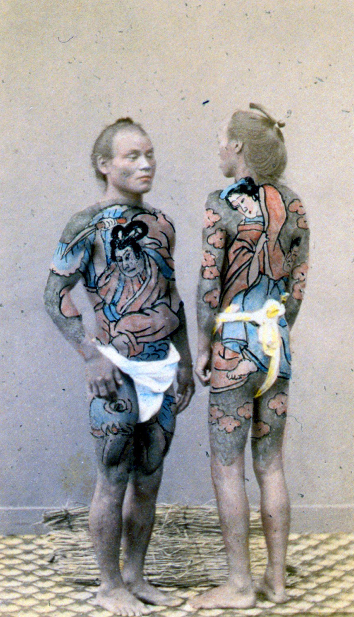 A linda e complicada história das tatuagens japonesas 05