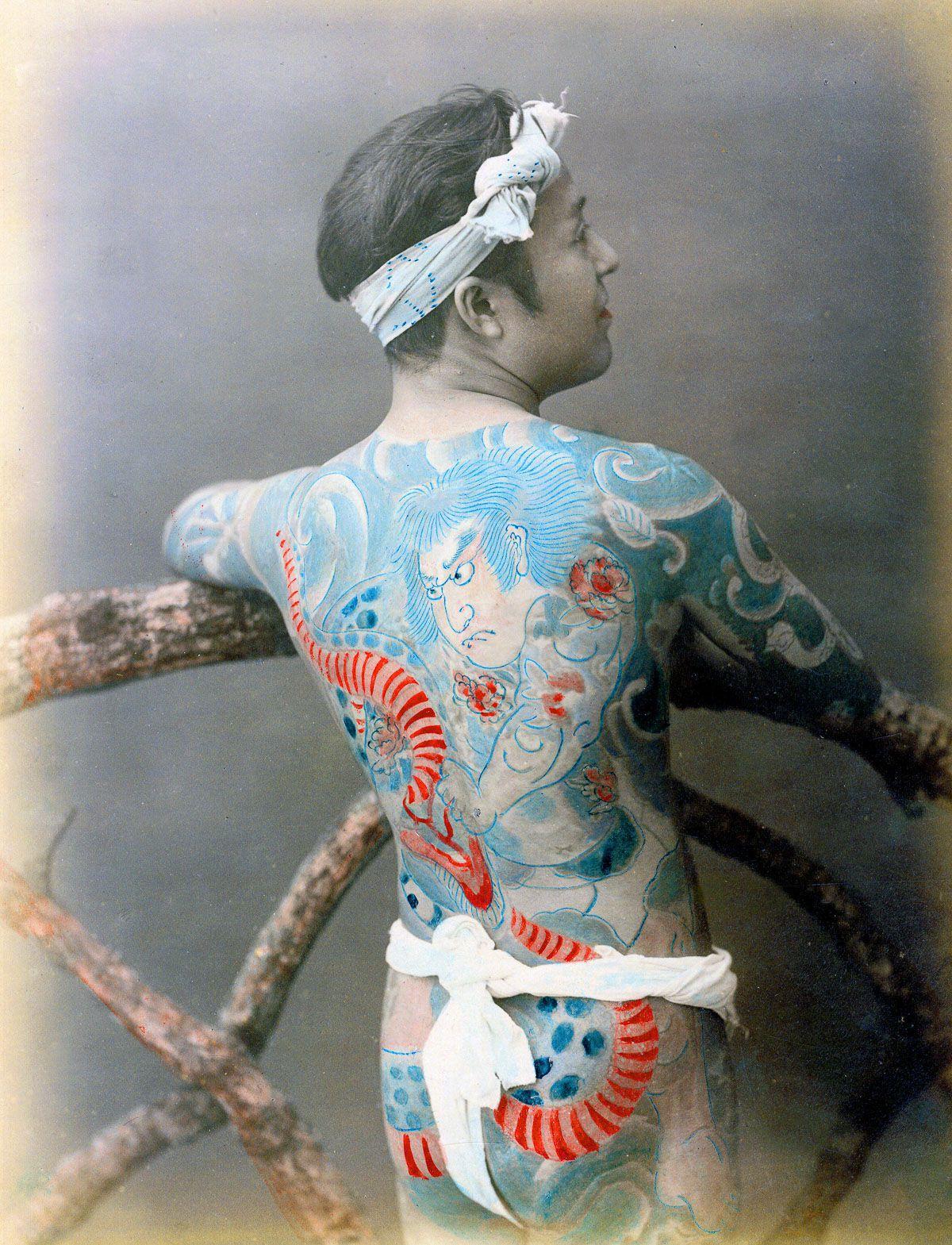 A linda e complicada história das tatuagens japonesas 07