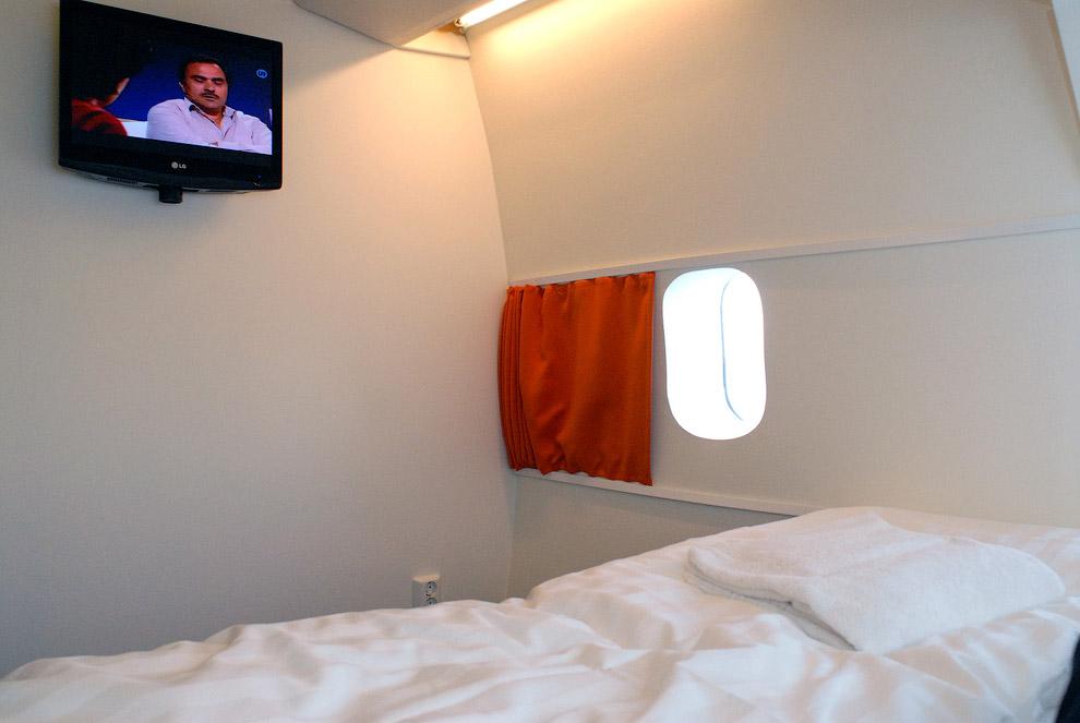 Hotel de luxo dentro de um avião 13