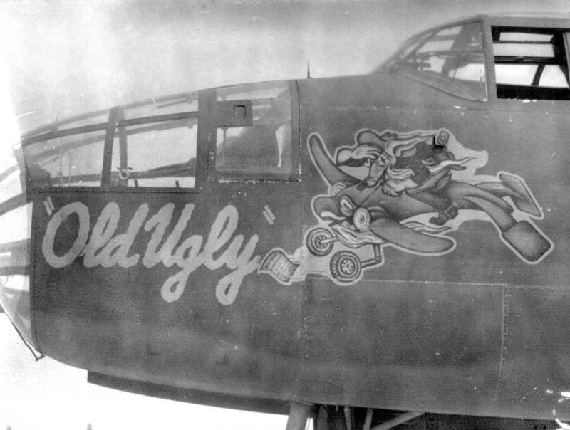 Nose-art em aviões da Segunda Guerra 12