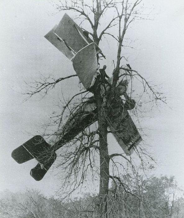 Acrobacias a�reas dos Barnstormers em 1920 01