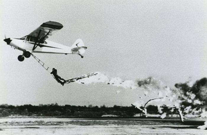 Acrobacias aéreas dos Barnstormers em 1920 17