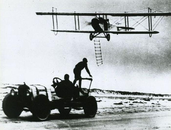 Acrobacias aéreas dos Barnstormers em 1920 19