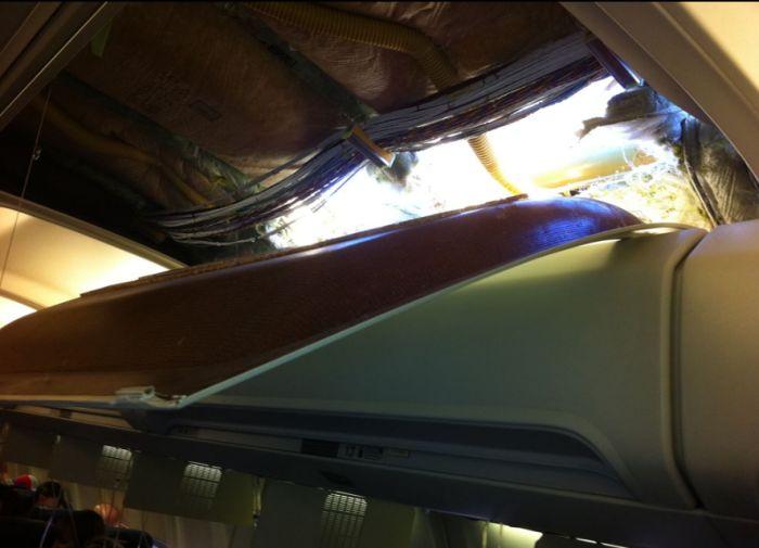 Despressurização no voo de um 737 01