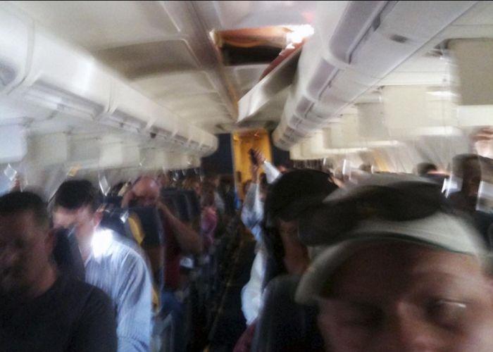 Despressurização no voo de um 737 04