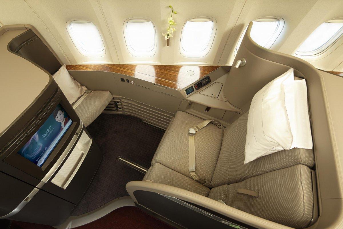 Top 10 melhores primeiras classes aéreas do mundo 09