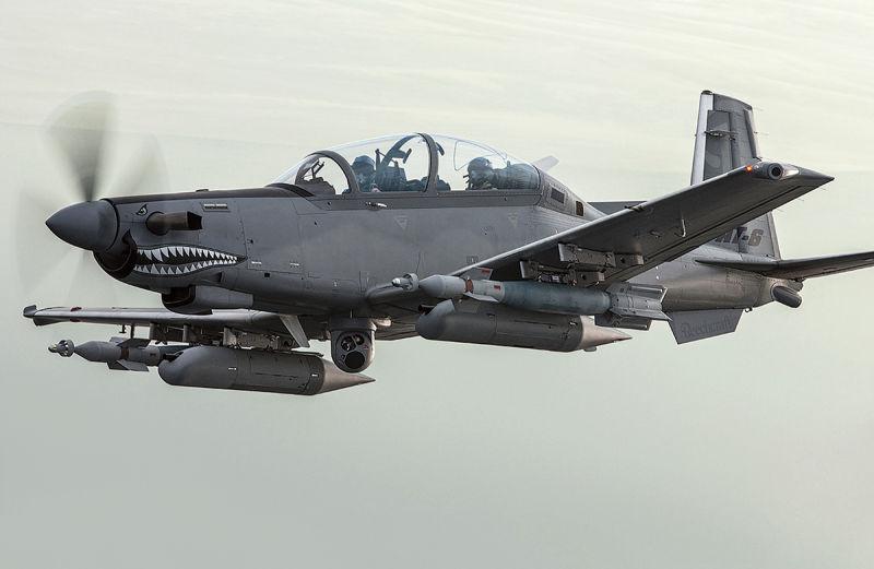 Voltam as hélices: um destes protótipos será o novo avião leve de ataque da força aérea americana 03