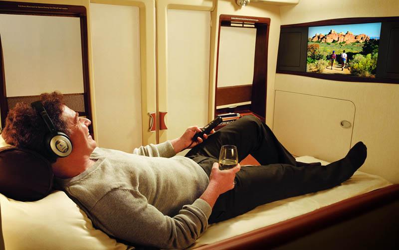 Companhia aérea oferece voos com suites de luxo 01