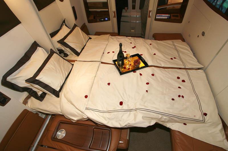Companhia aérea oferece voos com suites de luxo 06