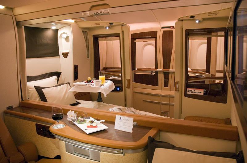 Companhia aérea oferece voos com suites de luxo 07