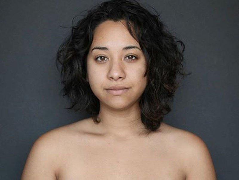 Outra jovem teve seu rosto fotochopado ao redor do mundo para examinar padrões de beleza 01