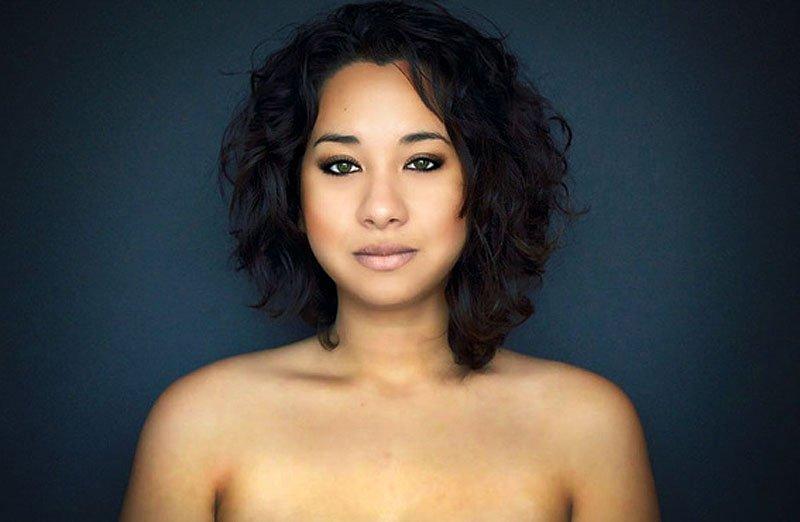 Outra jovem teve seu rosto fotochopado ao redor do mundo para examinar padrões de beleza 09