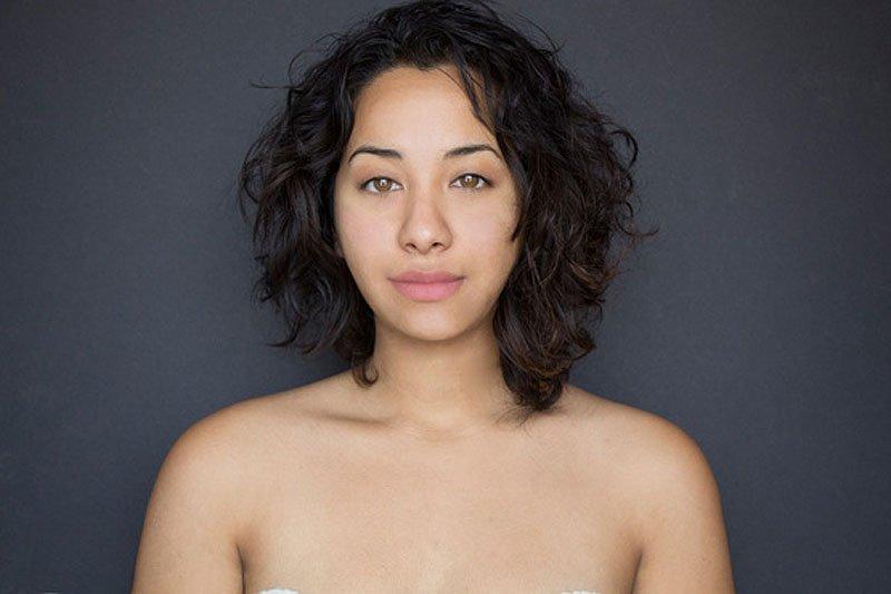 Outra jovem teve seu rosto fotochopado ao redor do mundo para examinar padrões de beleza 10