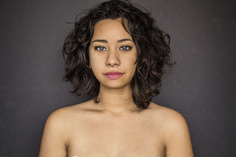 Outra jovem teve seu rosto fotochopado ao redor do mundo para examinar padrões de beleza 12