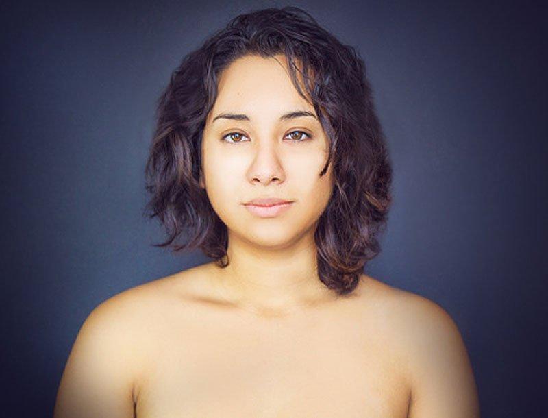 Outra jovem teve seu rosto fotochopado ao redor do mundo para examinar padrões de beleza 13