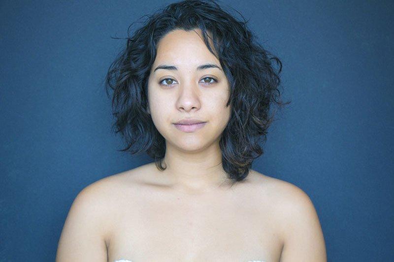 Outra jovem teve seu rosto fotochopado ao redor do mundo para examinar padrões de beleza 14