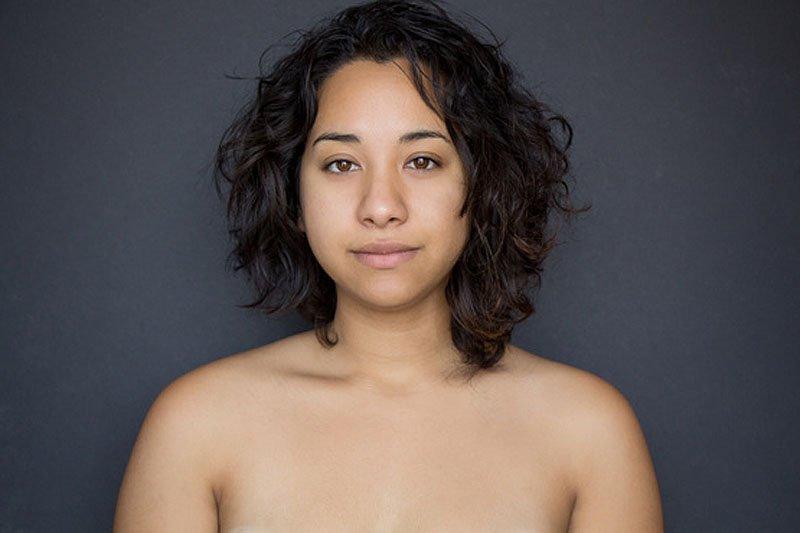 Outra jovem teve seu rosto fotochopado ao redor do mundo para examinar padrões de beleza 16