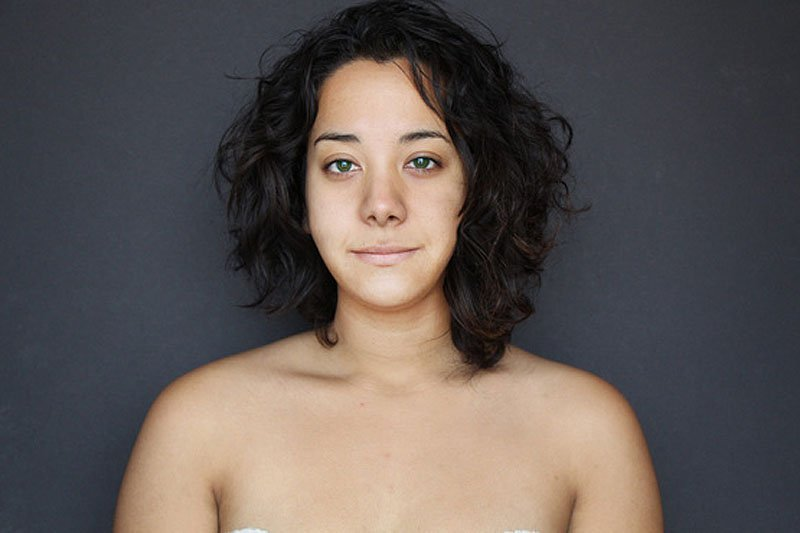 Outra jovem teve seu rosto fotochopado ao redor do mundo para examinar padrões de beleza 17