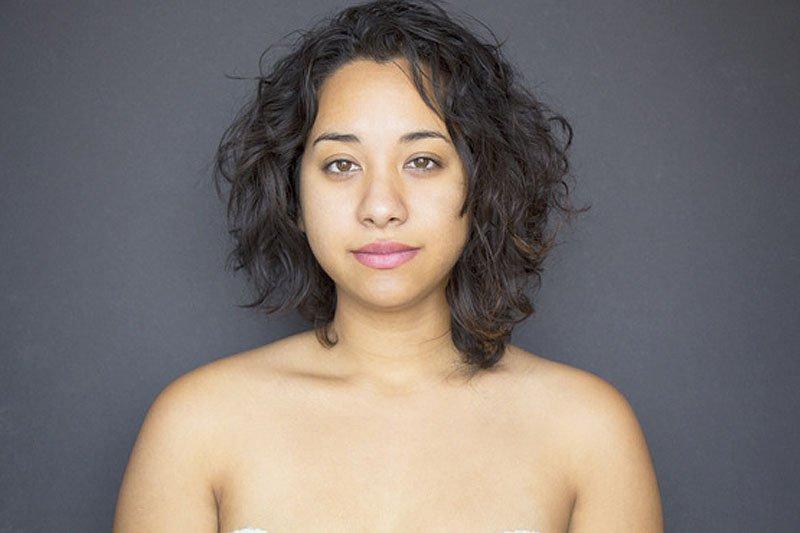Outra jovem teve seu rosto fotochopado ao redor do mundo para examinar padrões de beleza 18