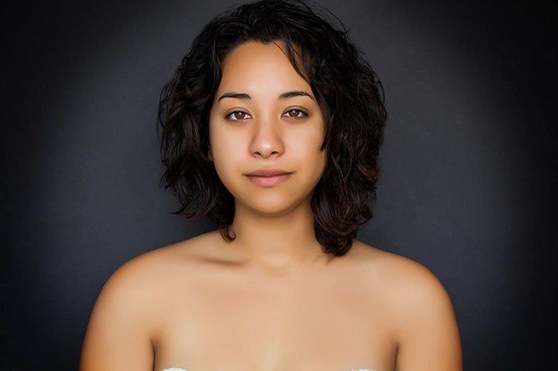 Outra jovem teve seu rosto fotochopado ao redor do mundo para examinar padrões de beleza 19
