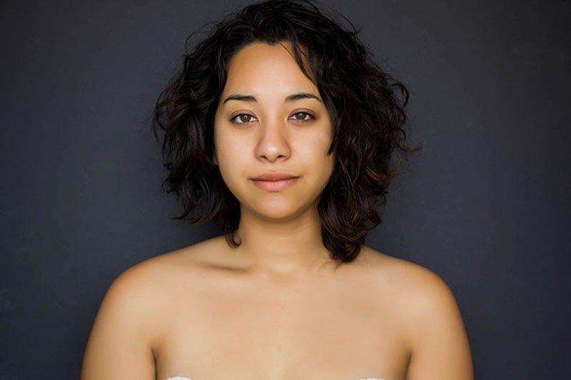 Outra jovem teve seu rosto fotochopado ao redor do mundo para examinar padrões de beleza 22