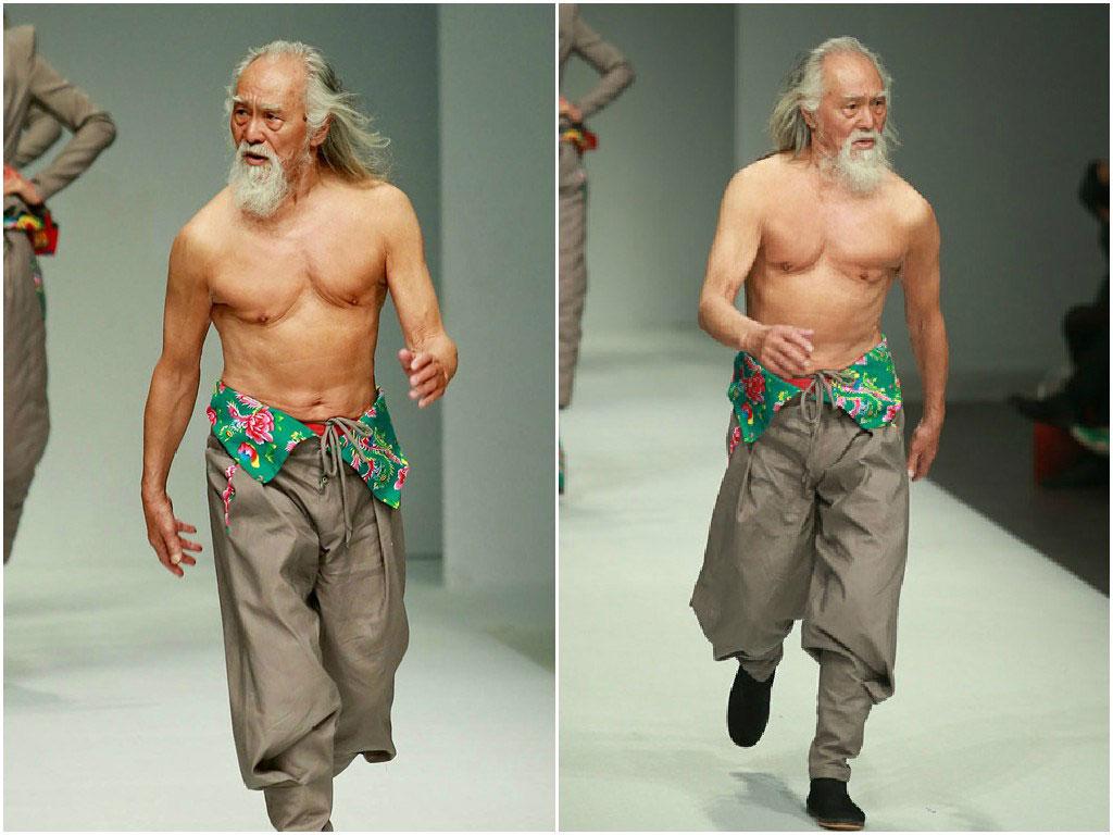 Deshun Wang, o modelo de 80 anos considerado o vov� mais sarado do mundo 01