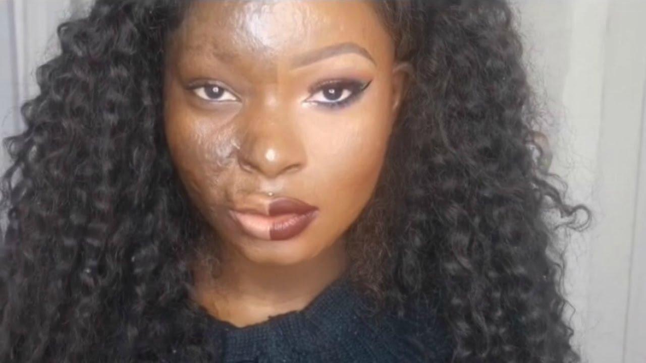 Esta sobrevivente de queimadura mostra o poder da maquiagem como você nunca viu